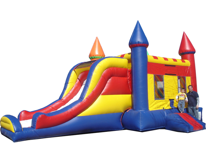 inflatable with slide